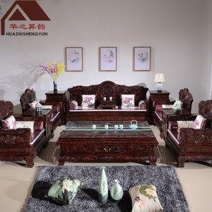 印尼黑酸枝沙发 国宝  7件套/11件套 正宗阔叶黄檀