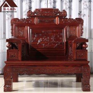老挝红酸枝沙发 财源滚滚 7件套/11件套