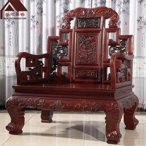 老挝红酸枝沙发 福星高照 7件套/11件套