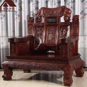 老挝红酸枝沙发 金象一号 7件套/11件套