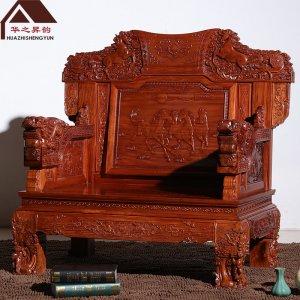 缅甸花梨木沙发 宝马 7件套/11件套 大果紫檀