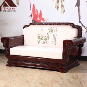 非洲酸枝木沙发 软体 7件套/11件套