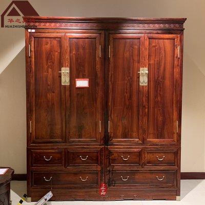 老挝大红酸枝衣柜