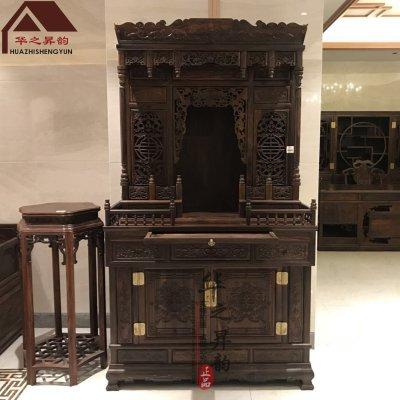 老挝大红酸枝佛龛